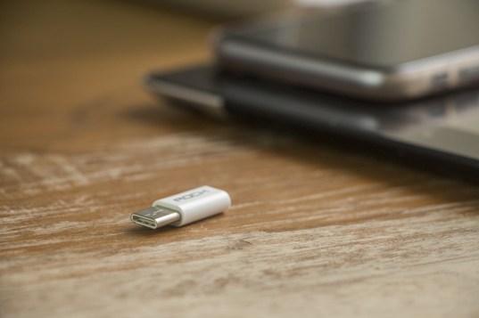 Adaptador de Micro-USB para USB-C, da ROCK