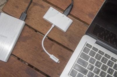 Hub USB-C para USB 3.0 (4 portas), da Geonav