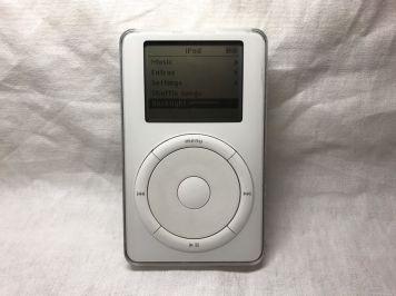 Protótipo de iPod de primeira geração no eBay