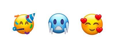 Emojis propostos para o Unicode 11.0