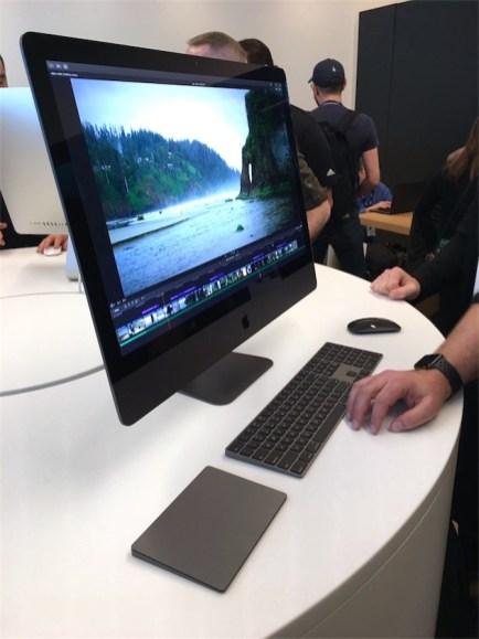 iMac Pro num evento de Final Cut Pro X