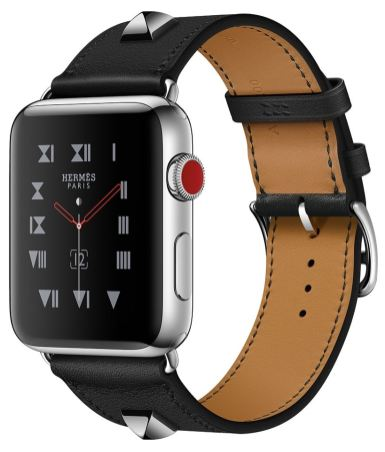 Apple Watch pulseira Hermès Médor