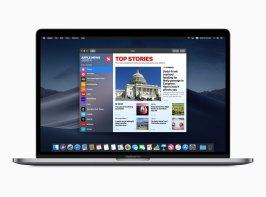 App Notícias/News no macOS Mojave