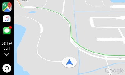 Google Maps no CarPlay
