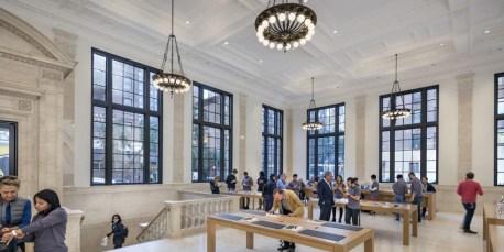 Interior da Apple Upper East Side