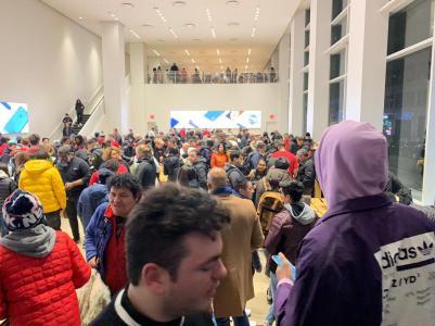 Loja temporária da Apple em Nova York