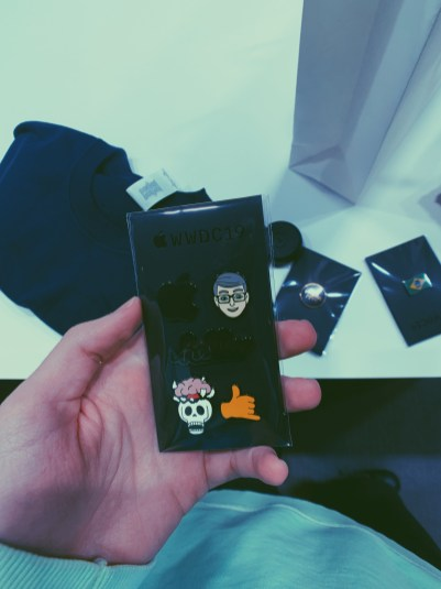 Pins da WWDC19