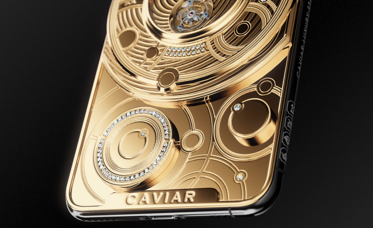 iPhone Solarius Zenith da Caviar