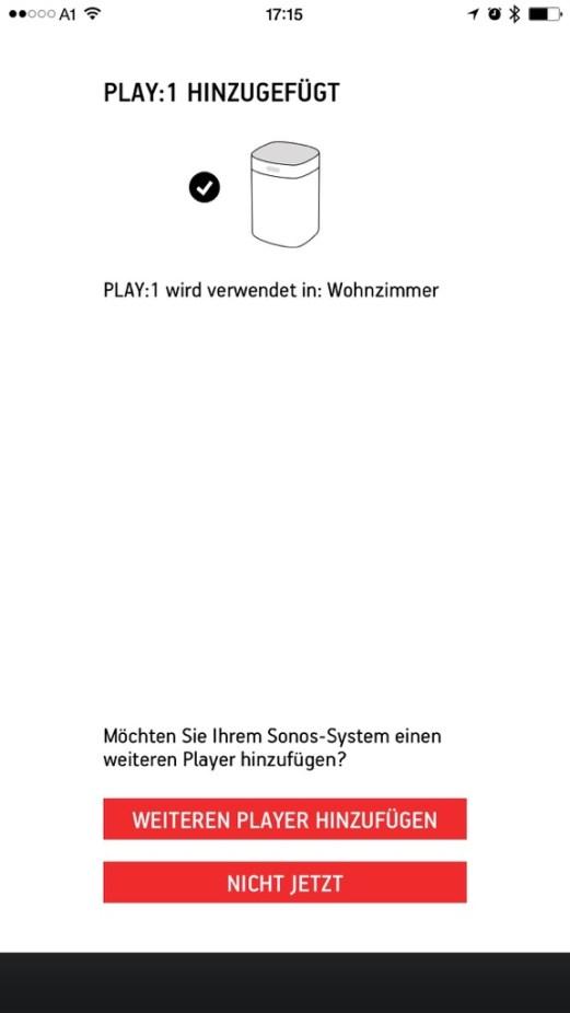 sonos iPhone - ersteinrichtung 16