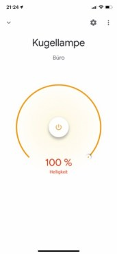 HUE Lampe