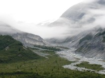 Approaching Glacier Bay