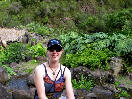 Sarah in 'Īao Valley (2)