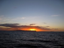 Sunset Behind Ni'ihau