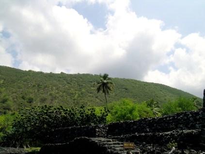 Temple Ruins at Kealakekua Bay
