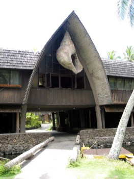The Giant Conch Shell at Coco Palms