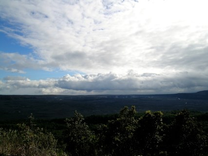 The View of the Kīlauea Caldera from the 'Iliahi Trail