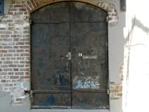 River Street Alley Door