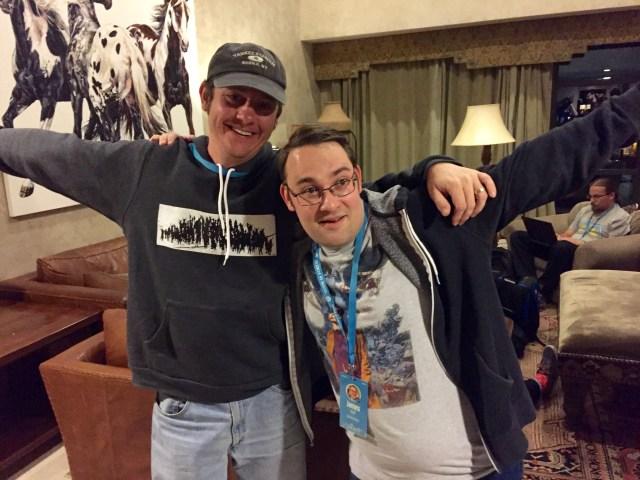 James and Greg