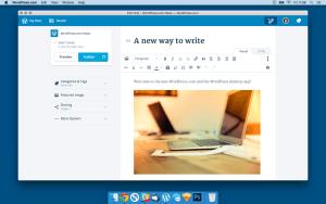 The WordPress.com Desktop App