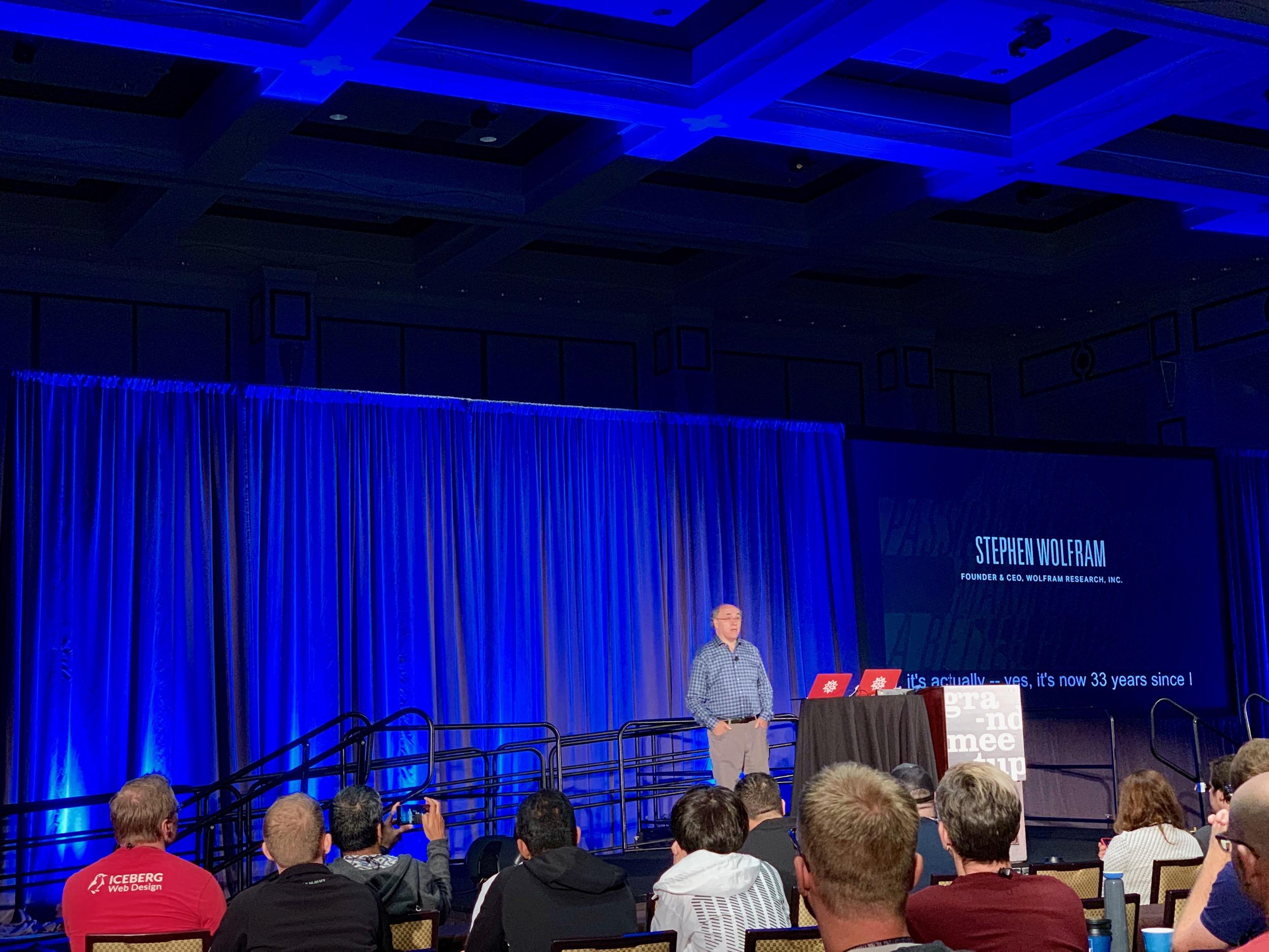 Stephen Wolfram Keynote