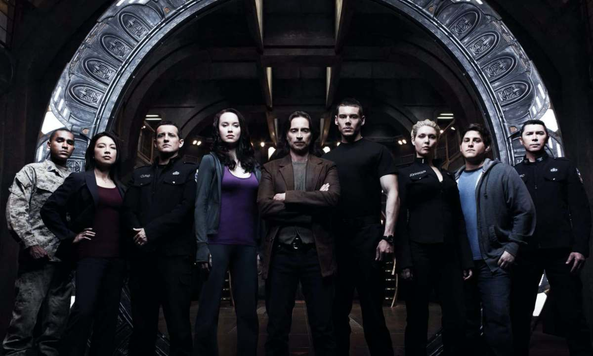Stargate Universe Cover