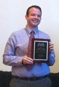2012 Marguerite Abel Service Recognition Award Winner--Ryan Harris