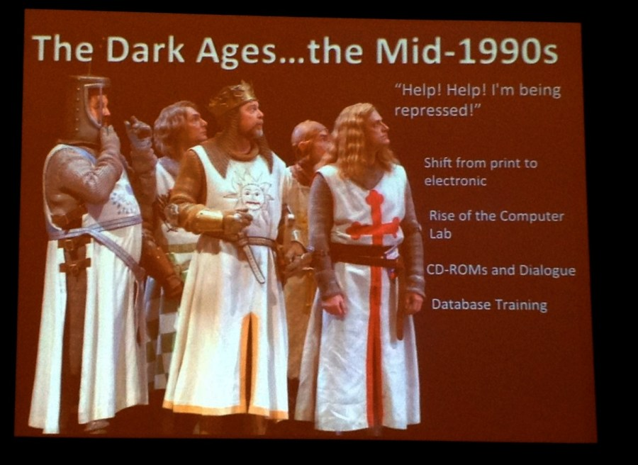 "The Dark Ages....the Mid-1990s from ""How Did I Become the Computer Geek?"" presentation"