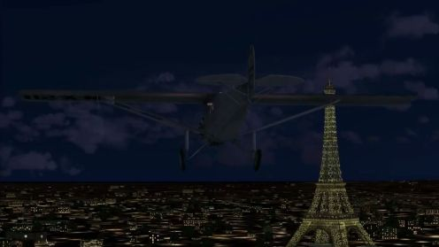 Lindbergh Flight Paris-1