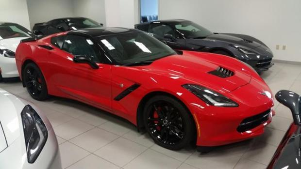 2014 Chevrolet Corvette Stingray Coupe Z51 3LT