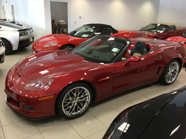 2013 Corvette Grand Sport 427 Convertible - Only 5,631 Miles