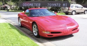C5 Corvette Owner Puts 700,000 Miles on his 2000 Corvette