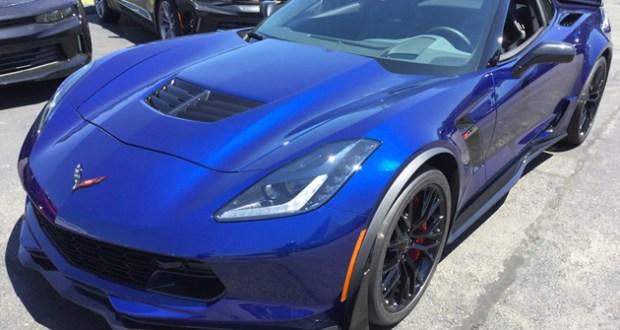 2016 Corvette Z06 - Admiral Blue Metallic - Z07 Performance Package, 3LZ Trim Package - Dark Gray Interior