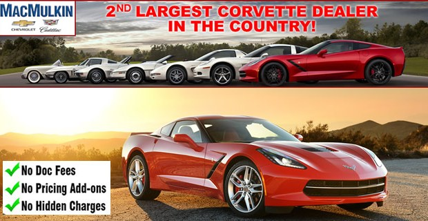 Select 2016 Corvette Blowout Special in June!