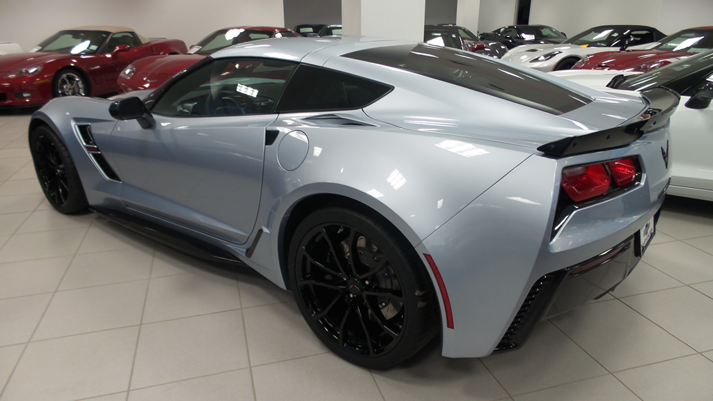 2017 Corvette Grand Sport in Sterling Blue Metallic