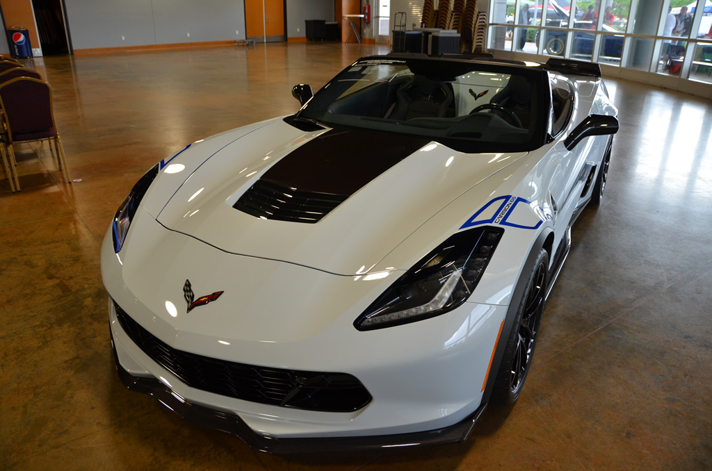 2018 Corvette Z06 Convertible 3LZ Carbon 65 Edition