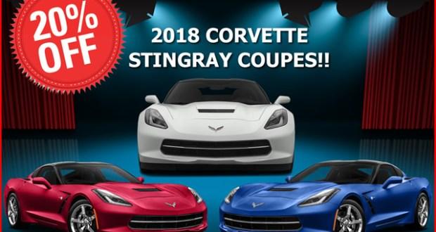 February 2018 - Corvette Sale - MacMulkin Chevrolet Corvette
