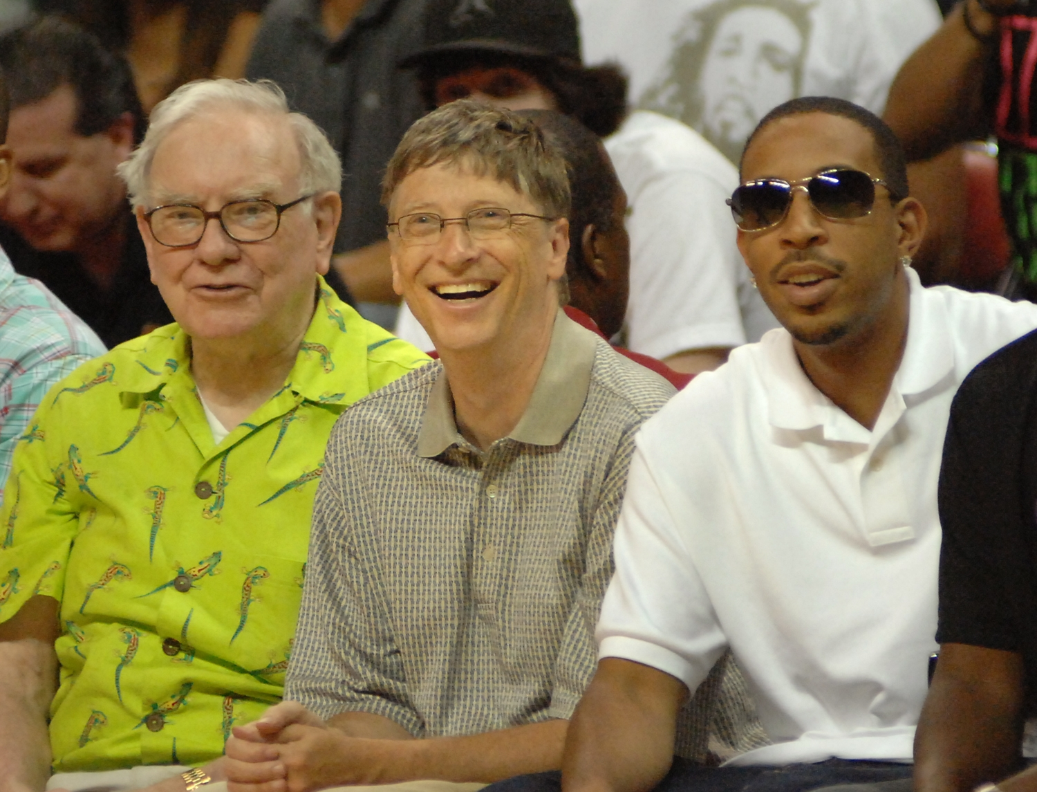 Warren Buffett, Bill Gates and, ... Ludacris?
