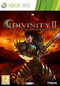Divinity 2: The Dragon Knight Saga - Cover Xbox 360