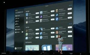 Mac App Store in macOS Mojave