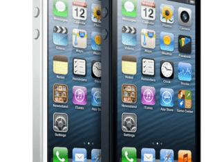 iPhone 5 (Quelle: Apple)