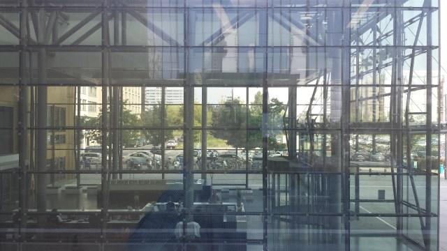 Aussicht aus dem neuen Büro