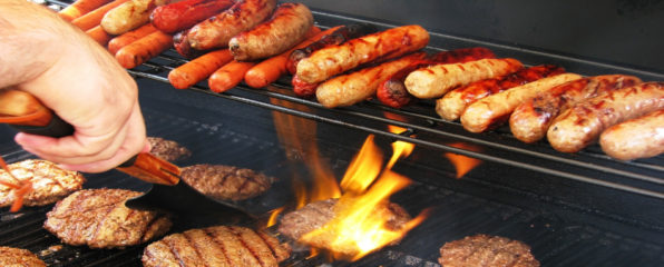 Fresh grilled hot dogs, burgers and chicken all game long. Plus all the soda and water you want.