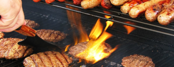 Fresh grilled hot dogs, burgers and chicken all game long.
