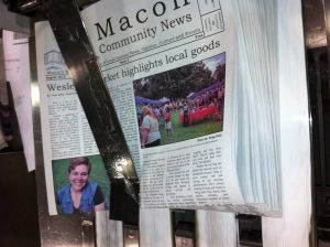 First color issue of Macon Community News