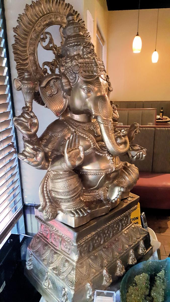 Curry Mantra Statue of Ganesha