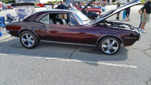 Classic Firebird at the Wings and Wheels car show at the Museum of Aviation in Warner Robins.