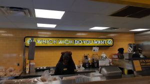 Which Wich Counter