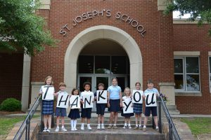 St. Josephs Thank You