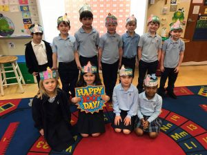 St. Joseph's kindergartners 100 days