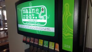 Ocmulgee serves Maine Root